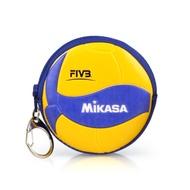 MIKASA 零錢包(鑰匙扣 排球【MKAC-CP200W_1】≡排汗專家≡