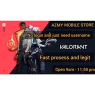 Recharge Valorant Point[ Top up Valorant] Cheapest Price!