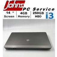 โน๊ตบุ๊คมือสอง HP 4430 i3 gen2 14นิ้ว Notebook ราคาถูกๆ โน๊ตบุ๊ค laptop มือสอง โน็ตบุ๊คมือ2 โน้ตบุ๊คถูกๆ โน๊ตบุ๊คมือสอง2 โน๊ตบุ๊คมือสอง i3/i5/i7