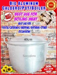 Sosyalera Caldero Big Aluminum Double Handle/Caldero/Pot/Kaldero/Saingan/Boiler/Aluminum Pot/Malaking Kaldero/Big Caldero