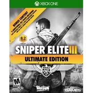 XBOX ONE 狙擊之神 3 終極版 英文美版 Sniper Elite III 狙擊精英3【一起玩】(現貨全新)