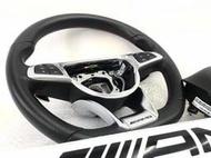 售 BENZ W205 C43 AMG 方向盤含氣囊 升級拆下 95%新 W205 S205 GLC CLA 全車系適用