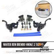 Brembo Brake Master Handle 2 Tubes BIG Smoke Set Right Left Universal Hydraulic Clutch PCX Nmax ADV