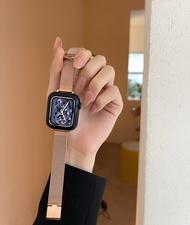 Original Iwatch6 SE เหมาะสำหรับสแตนเลสสายคล้อง4-3-2รุ่น Applewatch Apple นาฬิกามิลานเอว