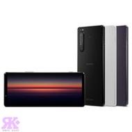 SONY Xperia 1 II (8G/256G) 6.5吋三鏡頭智慧手機-贈三星原廠藍牙自拍腳架組+空壓殼+9H鋼保+韓版包+指環支架+噴劑