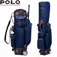Shipping POLO New Golf Bag Men's Golf Bag Lightweight Trolley Golf Bag with Wheels Lightweight trolley bag golf bag