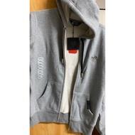 法國 黑豹外套 刷毛厚磅 連帽外套 全新 S號 灰色