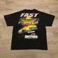 VTG 1999 Daytona Speedway Fast & Furious คู่ด้าน Graphic T Shirt สีเทา 3XL