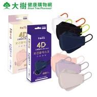 幸福物語 4D立體 成人醫用口罩 10入/盒 多色可選 大樹