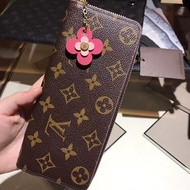Louis Vuitton LV M64201 Clemenc 長夾 粉色