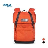【deya】零侷限袋蓋束口後背包(橘)