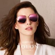 【BOLON 暴龍】時尚流行大矩方框太陽眼鏡 明星代言款 BL6059