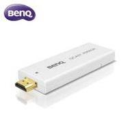 BENQ 無線顯示接收器 QCast Mirror【HDMI 1.2/ 支援 iOS Android 不用安裝軟體APP/2.5G/5G 頻寬/適用投影機.電腦螢幕.電視.商用顯示器/白色】