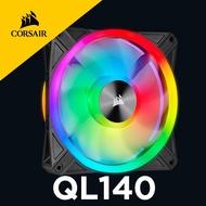 海盜船 CORSAIR QL140 RGB 140mm PWM風扇 官方授權旗艦店