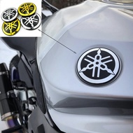 Motorcycle Universal 3D Logo for Yamaha Lc135 Y15zr 125zr rxz Xmax Emblem Real Logo Decal Sticker 55mm 50mm