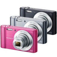 SONY DSC-W810數位相機(公司貨)-加送清潔組+保護貼+讀卡機+迷你腳架