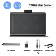 Professional 8 inch Graphics Tablet For Drawing Game 8192 Level Drawing Tablet Digital Writing Board Pad Wireless Mac