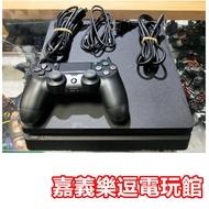 【PS4中古主機】PS4 SLIM 2017A 500G 薄型 ✪ 中古二手✪嘉義樂逗電玩館