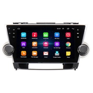 10.2 Inch for Android 8.1 Car Stereo Radio Quad Core 1GB+16GB Touch Screen GPS WiFi for Toyota Highlander 2009-2013