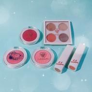 PAZZO A MINE ME 彩妝系列 史努比 BELLE 午茶甜甜圈腮紅 午茶眼影 唇膏 眼影盤