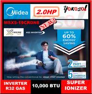 MIDEA MSXS-19CRDN8 2.0HP R32 INVERTER WITH SUPER IONIZER AIR CONDITIONER