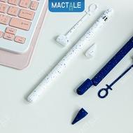 Mactale ปลอกปากกาซิลิโคน Apple pencil case Gen 1, 2 Stylus silicone ลายจุด เคสปากกา จุก เคสซิลิโคน เก็บปากกา สไตลัส Cap