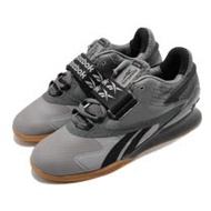 Reebok 訓練鞋 Legacy Lifter II 運動 男鞋 舉重 支撐 穩定 重量訓練 健身房 灰 黑 FY3537 FY3537