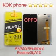 ชุดหน้าจอ  OPPO A7 /A5s/Realme 3/Realme 3i/A12 แถมฟิล์ม