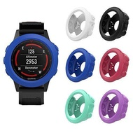 MoKo Case for Garmin Fenix 5X Watch, [6 PACK] Soft Silicone Full Body Protective Cover with Dust Plug Shock-proof Case Protector Accessories for Garmin Fenix 5X Smart Watch, Multi Colors (6PCS)