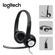 【Logitech 羅技】H390 USB耳機麥克風