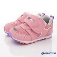 日本Moonstar月星機能童鞋-HI系列寶寶鞋款(MSB1214粉-13-14.5cm)
