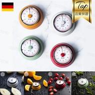 德國機械番茄鐘廚房定時器煮菜料理計時讀書計時器時間管理-紅/綠/橘/白【AAA2173】