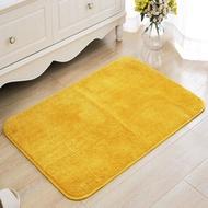 (現貨)雅藤定制金黃色地墊進門玄關地墊臥室門墊衛浴吸水防滑墊腳墊機洗
