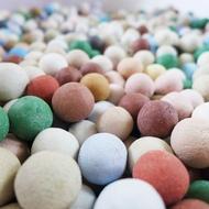 乾燥物語:晶彩珪藻球(400g) 含雪紗袋1個 珪藻土 硅藻 矽藻土