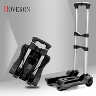 HOVERON Folding Portable Trolley Mini Aluminum Alloy Luggage Family Travel Shopping Trolley Case Cart Trolley Suitcase Schoolbag