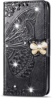 NEXCURIO Wallet Case for Huawei Y6 2018/Y6 Prime 2018 with Card Holder Side Pocket Kickstand, Shockproof Leather Flip Cover Case for Huawei Y6 2018/Honor 7A - NESDA060746 Black