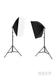 攝影燈 105瓦攝影燈套裝LED專業柔光箱簡易微型小型攝影棚淘寶大型產品拍攝