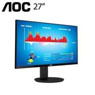 【27型】AOC U2790VQ 4K IPS液晶顯示器/4K/IPS/10 bit/HDMI2.0*2/DP/低藍光/不閃屏~加碼送實用超值贈品~