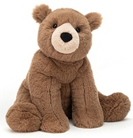 Jellycat: Woody Bear - Small (20cm) [PREORDER - Limited units arriving on 9 July]