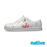 native 大童鞋 JEFFERSON 小奶油頭鞋-花卉白