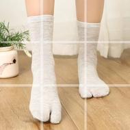【上唐】木屐襪cosplay分趾襪兩指襪二指襪男女日本二趾襪兩趾襪中筒襪子