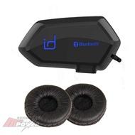 [含耳機襯套] id221 MOTO A1 機車騎士藍牙通訊系統 安全帽藍芽耳機 (禾笙科技)