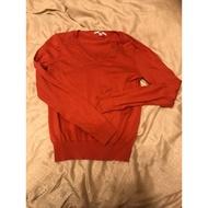 UNIQLO桃紅色喀什米爾羊毛衣
