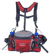運動腰包水壺戶外男多功能徒步騎行雙肩背包旅游女大容量登山裝備