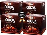 BIO COCOA ไบโอโกโก้ ดีท็อก By คุณจันทร์ บรรจุ 10 ซอง+ แก้ว 1 ใบ 4 กล่อง