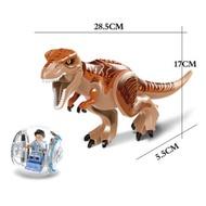 Jurassic World 2 Park Tyrannosaurus Indominus Rex Indoraptor Building Blocks Dinosaur Figures Bricks Toys Compatible Legoings