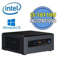 【Intel 英特爾】NUC平台【FINUC10i3FNH04】Intel雙核心 240G_SSD迷你電腦