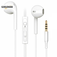 gogo888 Universal In-ear Earphones Stereo Sound Mega Bass Sports Earbuds with Microphone