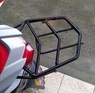 裂行125踏板摩托車改裝 貨架尾箱架尾翼後備箱架後尾架 伊衫風尚