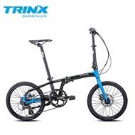 TRINX ultralight 20 inches - FLYBIRD aluminum alloy folding bike disc brake SHIMANO speed classic 8 speed